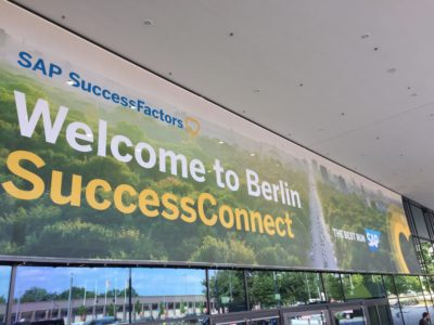 SAP SuccessConnect Berlin 2018