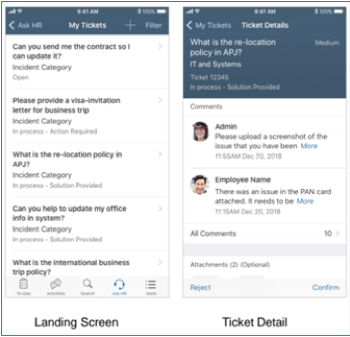 SAP SuccessFactors Release updates 2019 mobile