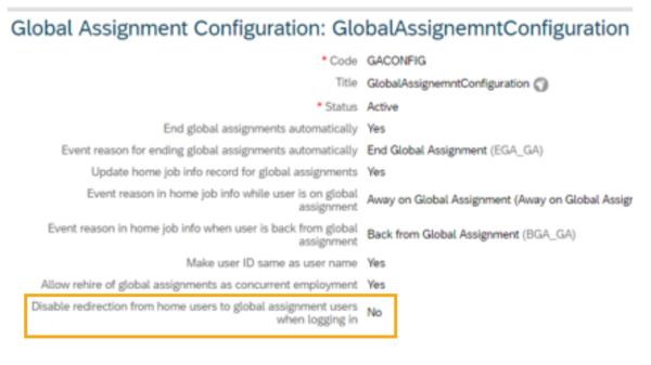 SAP SuccessFactors q3 release global assignment