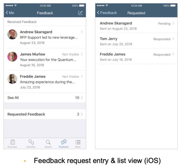 SAP SuccessFactors q3 2019 mobile update