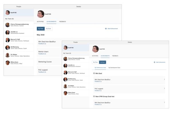 SAP SuccessFactors Q3 2019 update CPM